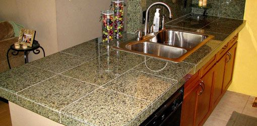 How to Install a Granite Tile Countertop class