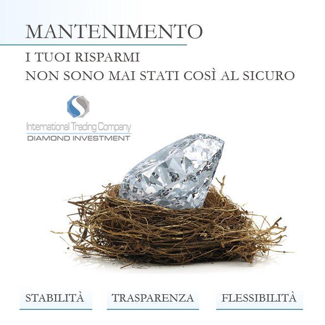 https://itcportale.it/?p=8676  Diamond Investment - Perchè investire ? Investi in totale sicurezza. Vuoi saperne di più ?  http://www.investimentodiamanti.com