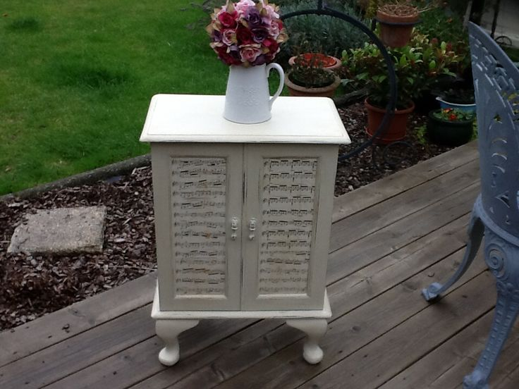 Lovely up cycled cabinet