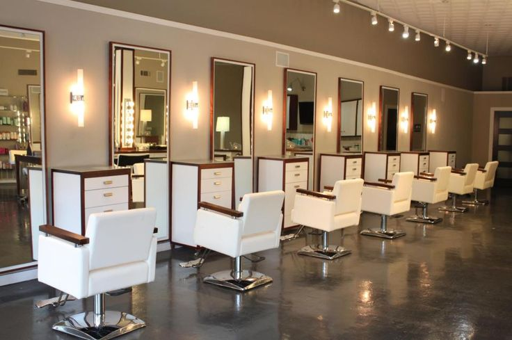 Eleven 11 salon stations eleven 11 salon best hair - Interior hair salon lighting ideas ...