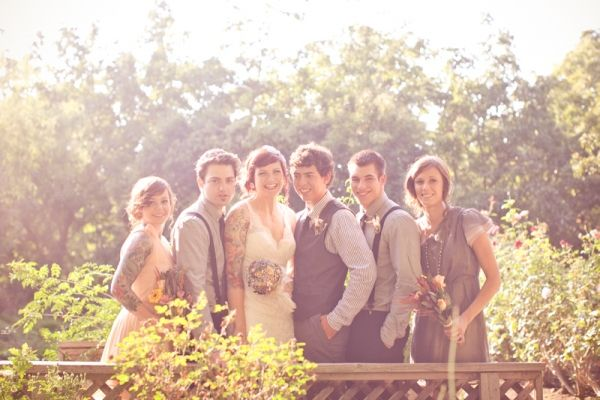Homemade Ranch Wedding