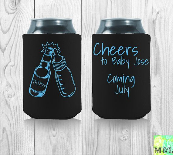 17 Best Images About Baby Shower Koozies On Pinterest