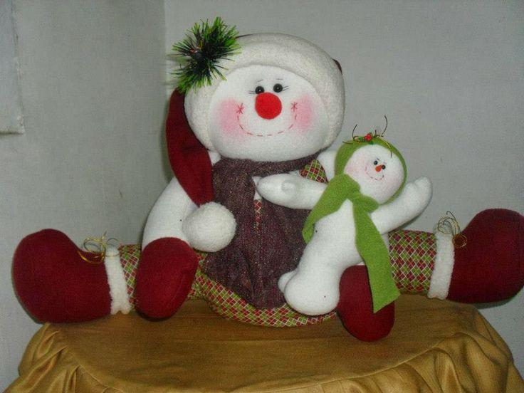 Molde, muñeco de nieve
