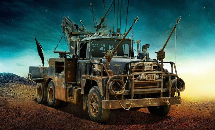 Um dos carros de Mad Max: Estrada da Fúria - Foto: Reprodução