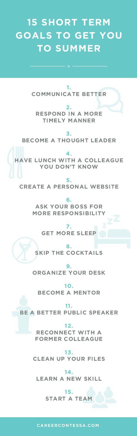 Best 25+ Short Term Goals ideas on Pinterest   Goals template, I ...