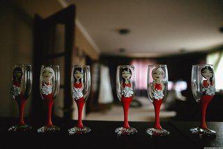 Фотографии ✁SmallButterfly●Ручная работа●Свадебный декор✁ | эти свадебные бокалы были сделаны на свадьбу для подружек невесты. Очень круто получилось.