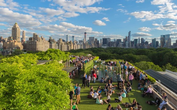 Rooftop Garden and Martini Café at the Metropolitan Museum of Art - Best Rooftop Bars in NYC | Travel + Leisure