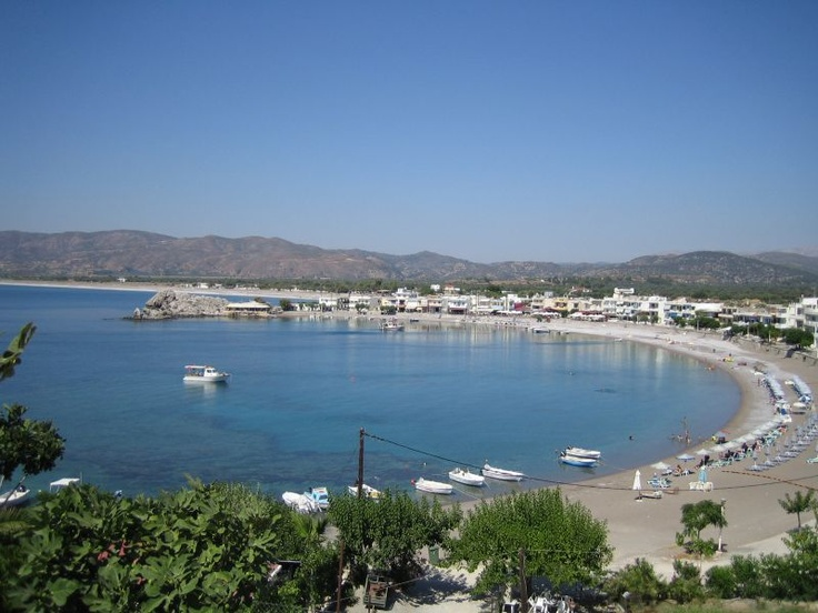 literally here right now as I pin this (:    Haraki Bay, Rhodes, Greece