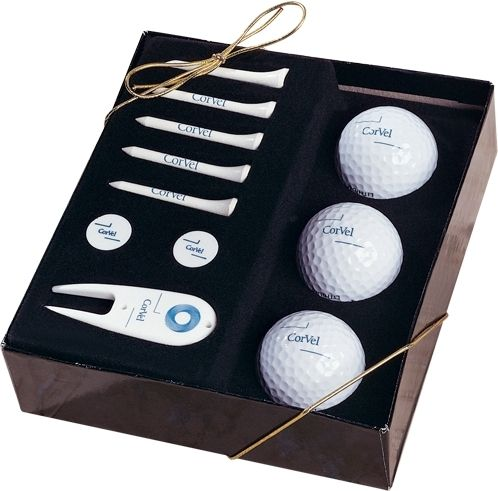 Prepare for the next big #golf outing now! Our beautiful Scottsdale golfer's gift box makes an ideal giveaway. #Sports #PromoProducts