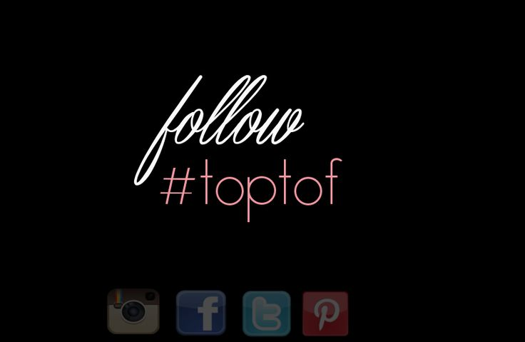 Check hashtag #toptof on Instagram!   Follow #toptof on socila media!