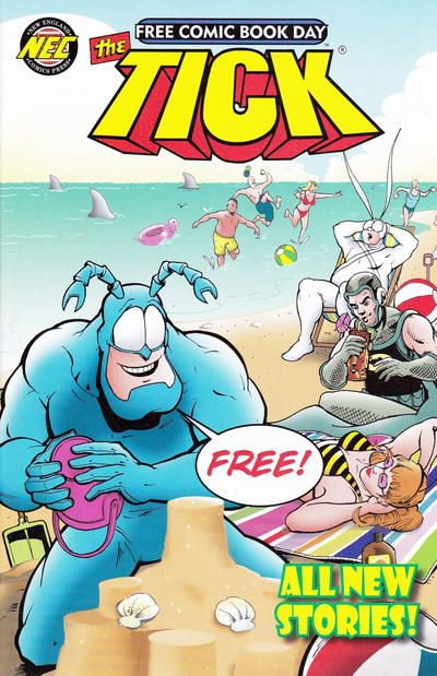 Cover for The Tick: Free Comic Book Day (New England Comics, 2011 series) #2013