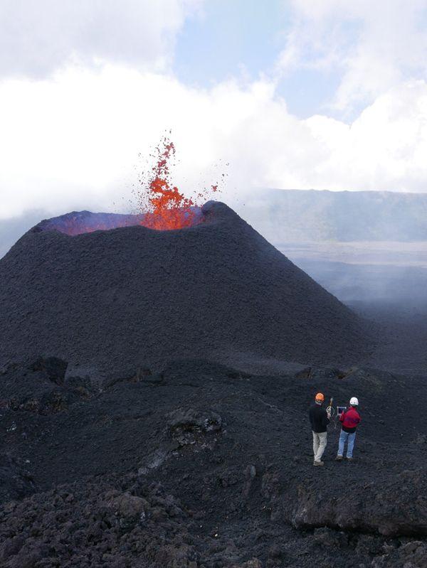 Volcan: attention à la météo ce week-end! - Volcan - Journal de l'île de la Réunion
