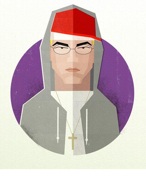 Eminem: Hip Hop Heads by Dale Edwin Murray.