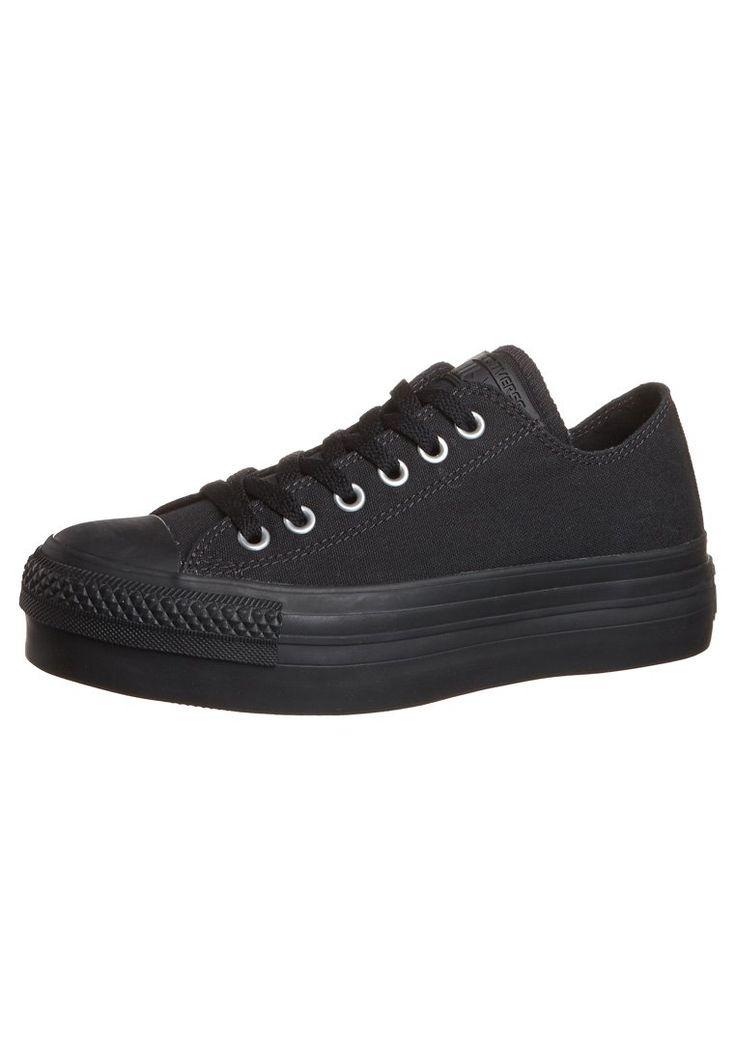 Un Chaussures De Sport De Boeuf De Plate-forme Rigide Converse Noir Et Blanc YA3v4UNp