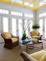 PITTSBURGH PAINTS FORSYTHIA BLOSSOM (yellow ceiling)