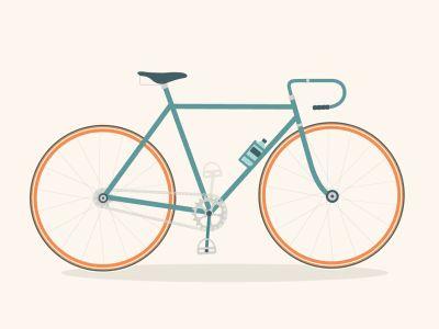 Bicycle (GIF)  by Katy Sinnott