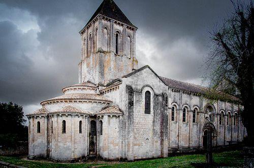 Saint-Hilaire à Melle / Une belle photo de Daniel Guimberteau sur Flickr / Roman Church | Flickr: partage de photos!