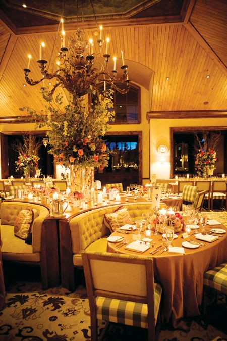 A Restaurant Wedding At The Aspen Mountain Club