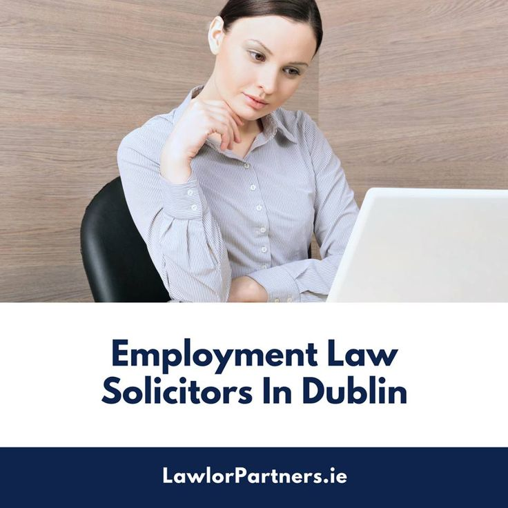 Employment law solicitors in Dublin, Ireland are of great help to both the employees and companies. These legal professionals assist both of them in combat against the legal issues and successfully overcome the matters. Contact them now!  #EmploymentlawsolicitorsDublin