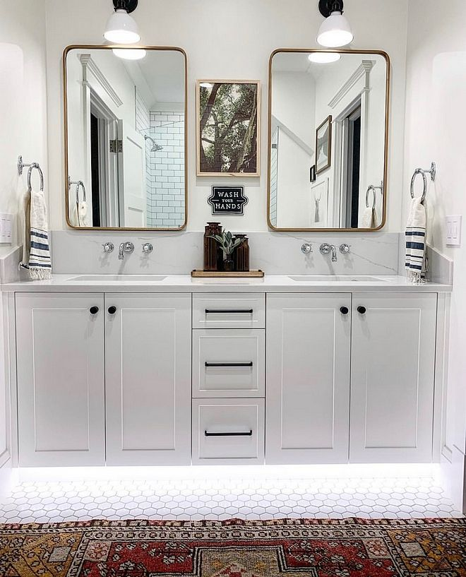 Double Bathroom Vanity Designs Ideas If Area Authorizations 2 Sink Locations Give Great Comfort Vanity Design Double Vanity Bathroom Bathroom Vanity Designs