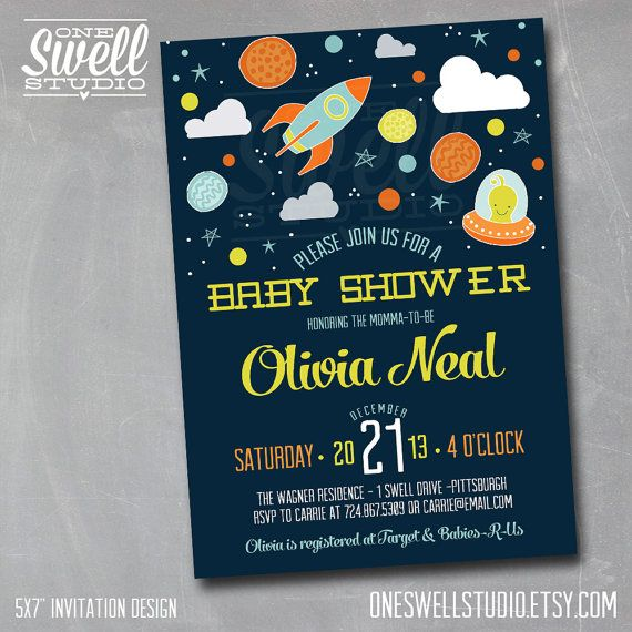 That new little baby is going to be loved to the moon & back! Why not shower the momma-to-be with an adorable outer space themed celebration!?