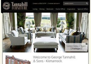 George Tannahill and Sons Furniture Kilmarnock