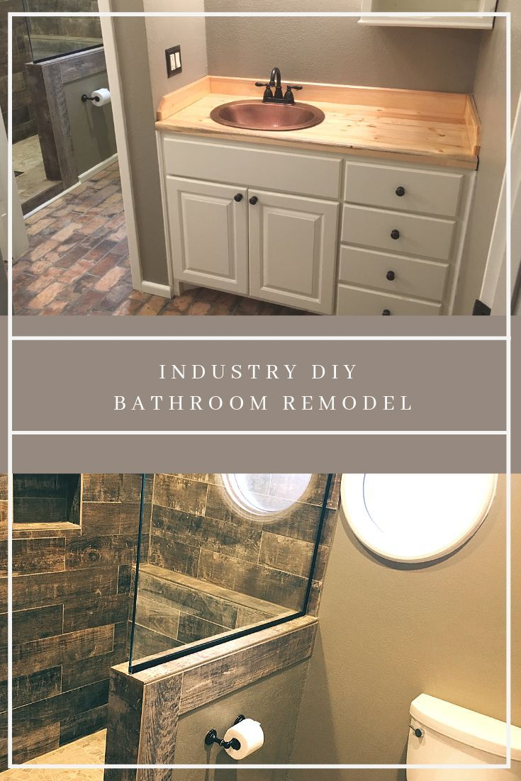 Bathroom Remodel Complete Overhaul With Images Diy Bathroom