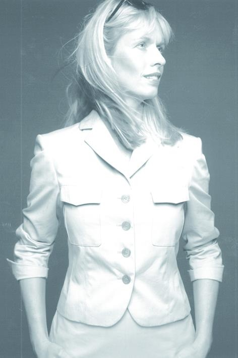 Anky van Grunsven for Claudia Sträter, summer 2001.