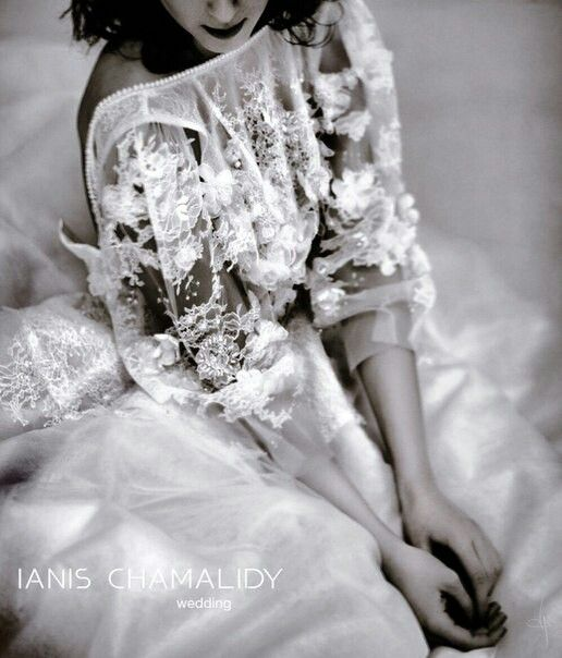 IANIS CHAMALIDY WEDDING DRESS