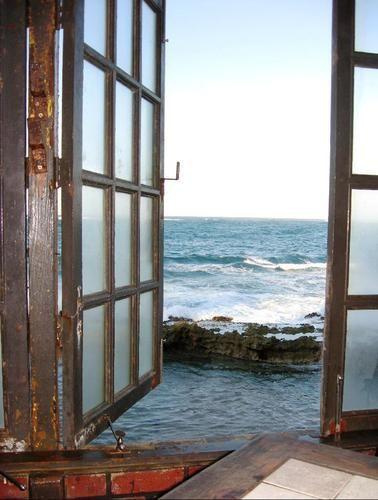 Ocean View, San Juan, Puerto Rico: Ocean Views, Window View, Puerto Rico, The Ocean, Sea, Windows, By, Place, Room