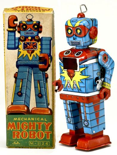 Retro Antique Toys | antique toy appraisals japanese toy robots space toys buddy l fire ...