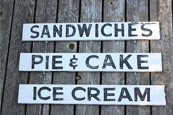 Reproduction vintage sign KITCHEN OR PORCH by mysweetsavannah, $64.00
