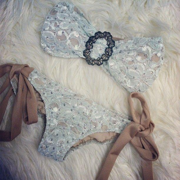 ♥ honeymoon swim suit