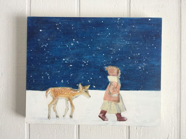 Stars or snow? by muralsbyshauna on Etsy https://www.etsy.com/listing/268581186/stars-or-snow