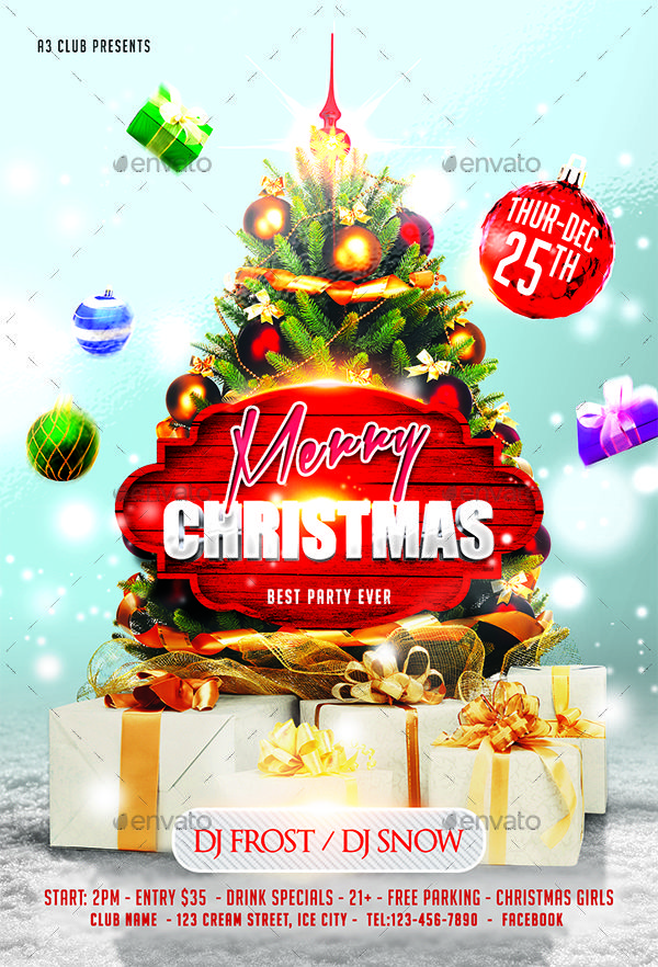 Christmas Flyer Bundle V4