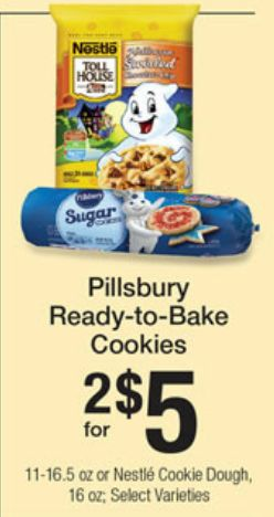 Pillsbury Ready Bake Cookies Just $2 Per Pack! Enjoy Some ...