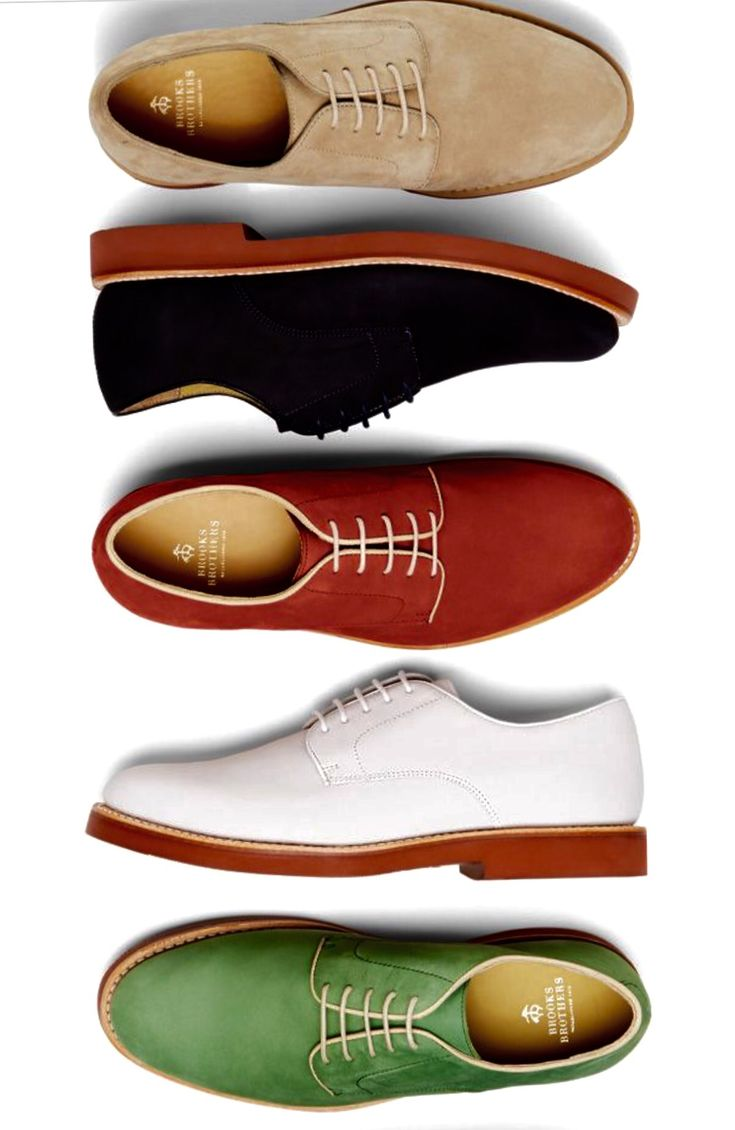 Brooks Brothers - Classic buckskin oxford shoes