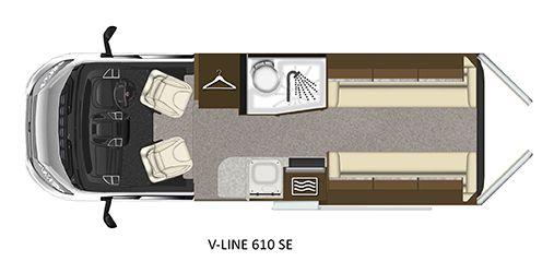 V-Line 610-SE Floorplan