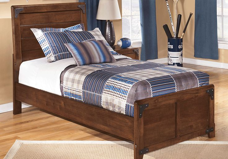 Delburne Youth Panel Twin Bed Lexington Overstock Warehouse Panel Bed Ashley Furniture Bedroom Furniture