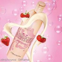 Limitovaná kolekce #Oriflame #Delicious Moments  Romantická PĚNA DO KOUPELE DELICIOUS MOMENTS s vůní vanilky, jahod a bílé čokolády. www.krasa365.cz