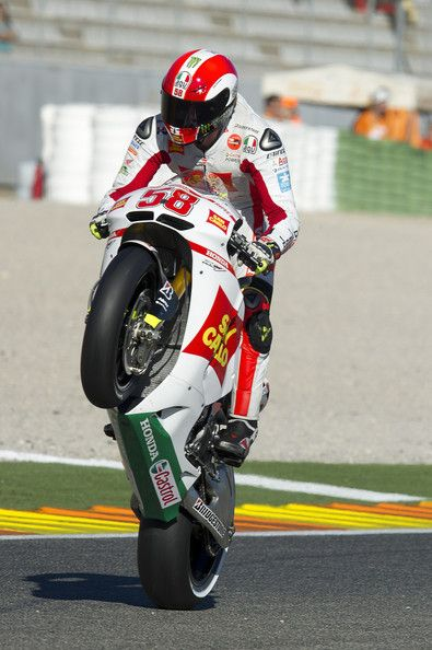 Marco Simoncelli Photo - MotoGP of Valencia - Qualifying
