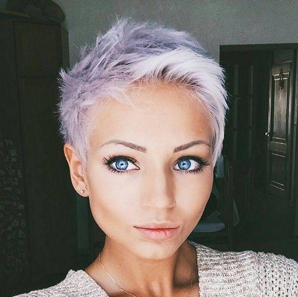 Prachtige moderne haarkleuren om te proberen in jouw korte kapsel, 12 stuks! - Kapsels voor haar