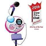 VTech Kidi Super Star Karaoke System with Microphone and Mic Stand - 2017 Online Exclusive
