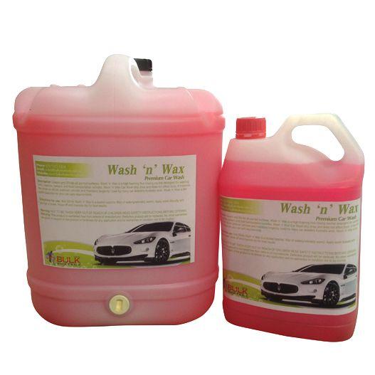 Premium Car Wash 'n' Wax 20 Litre – New Formula $60 #cardetailingsupplies #carcleaningproducts