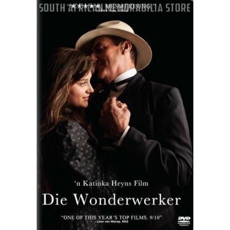 Die Wonderwerker - Elize Cawood, Marius Weyers - South African DVD *New* - South African Memorabilia Store