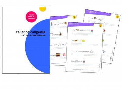 Cuadernos de caligrafía con pictogramas - Orientacion Andujar