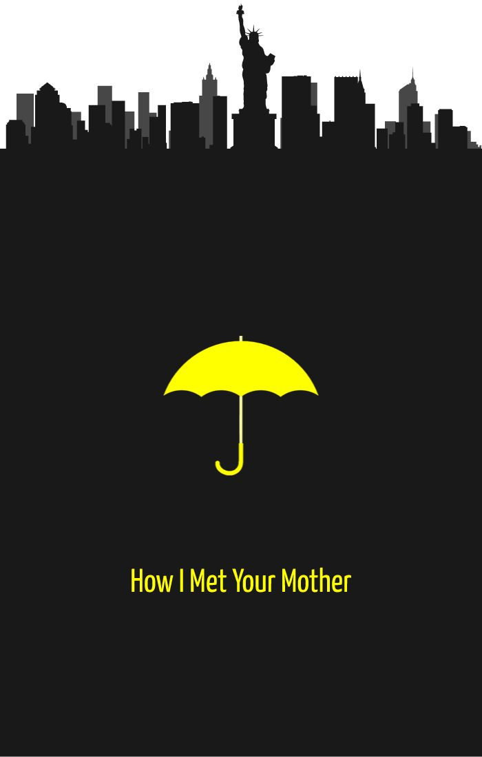Fan of the show #HowIMetYourMother?  Then check out this poster from PosterVine  Via: http://www.postervine.com/how-i-met-your-mother-poster/