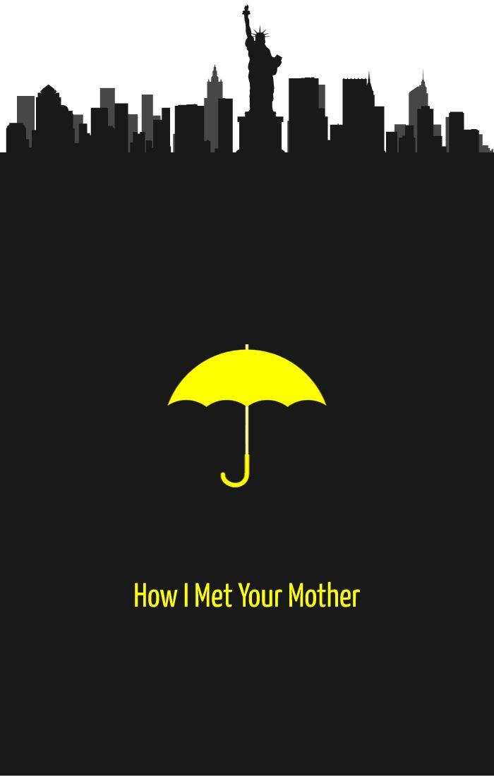 Yellow Umbrella How I Met Your Mother Poster 17 Best images ...