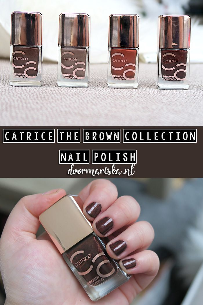 Catrice The Brown Collection nail polish fall / winter update. Nagellak van Catrice, the Brown Collection uit de herfst / winter update.