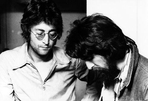 John Lennon & George Harrison (1971)